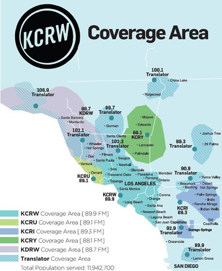 Broadcast Map