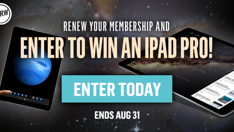 Join or renew your membership by August 31st to be automatically entered to win our iPad Pro sweepstakes. Stay connected to KCRW and all our streams and podcasts while on-the-go.…