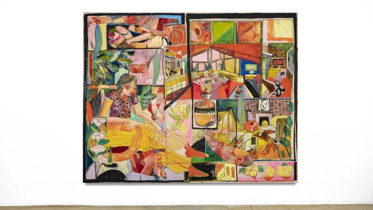 Art Insider: These Pseudo-Cubist works stitch together 'failed' paintings