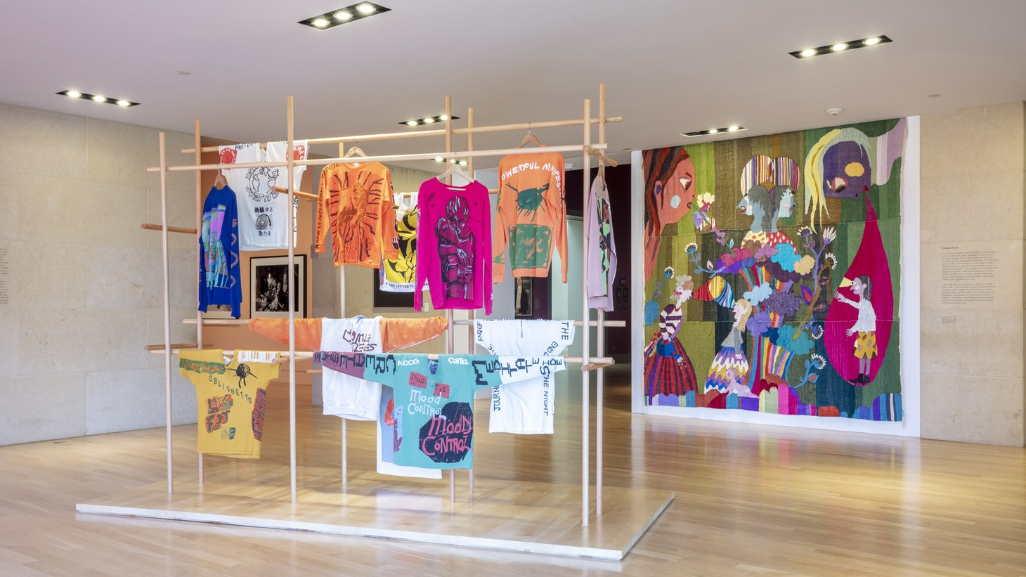 """""""Made in L.A. 2020: a version."""" Installation view at The Huntington Library, Art Museum, and Botanical Gardens, San Marino."""