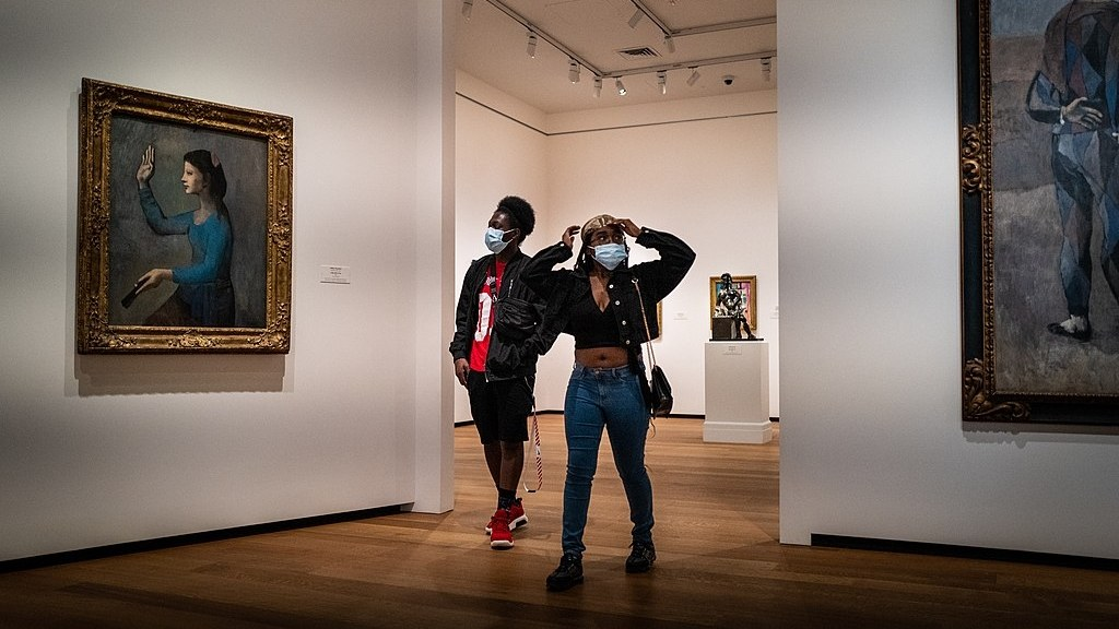 What will it be like to walk through the National Gallery of Art in Washington D.C. and other U.S. galleries when they reopen?