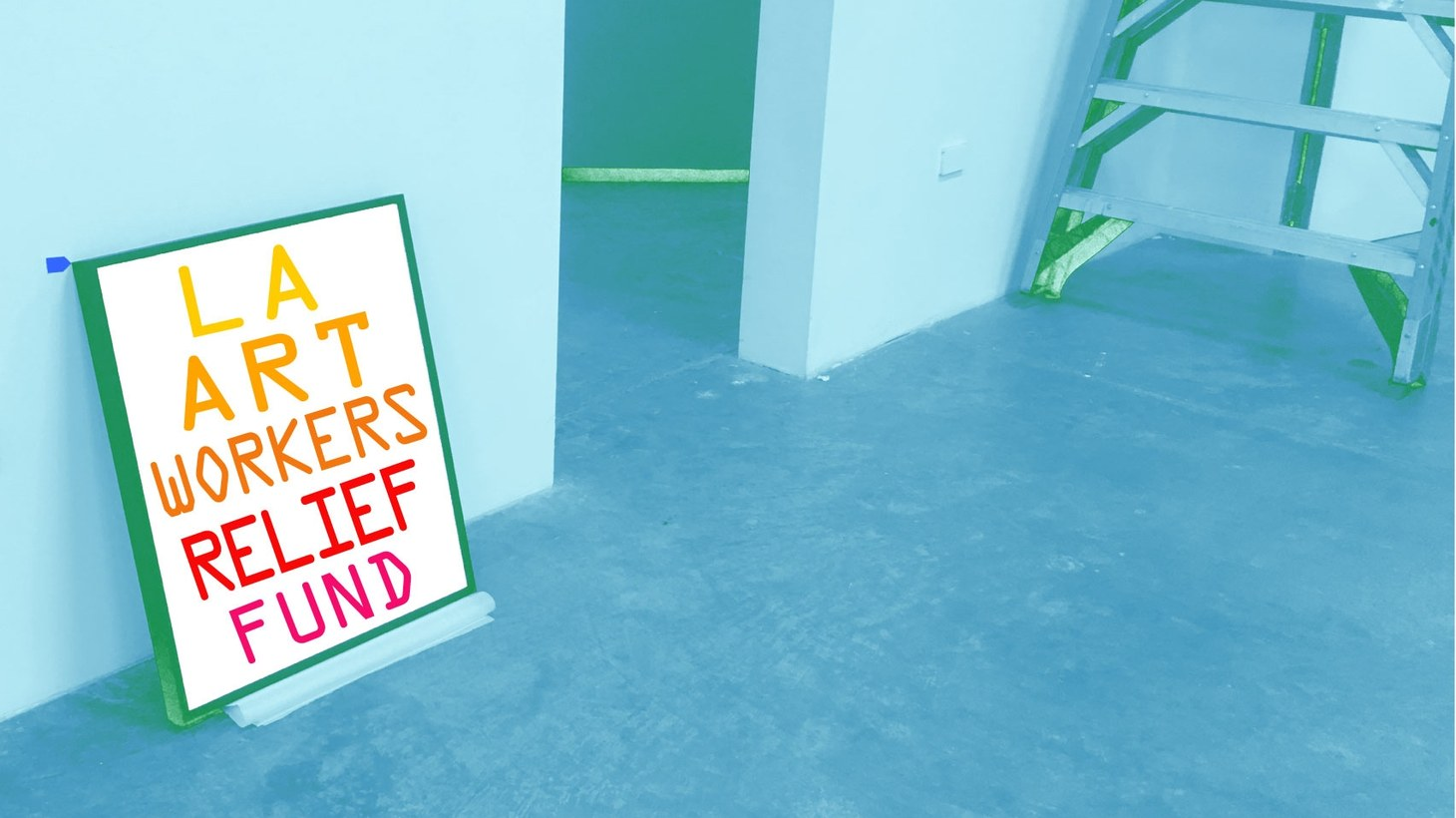 A new grassroots relief fund was initiated by art workers for art workers.