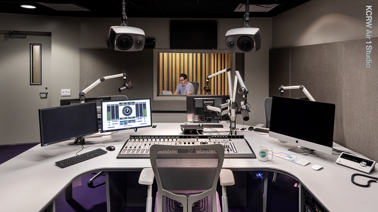 April marks the one year anniversary of our move into KCRW HQ!