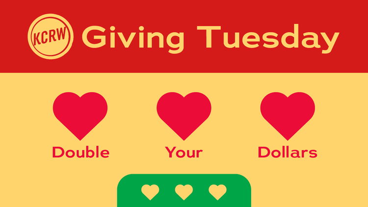 Giving Tuesday: Become a KCRW member, and commemorate public radio's impact on your daily life