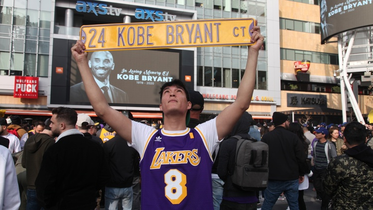 Remembering Kobe: How Los Angeles memorialized a legend