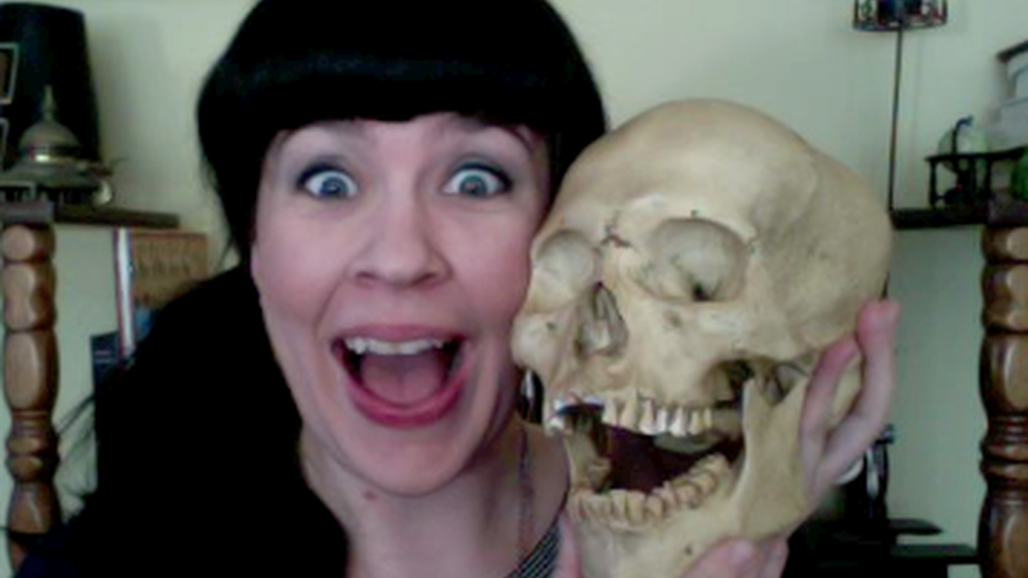 """Caitlin Doughty, author of """"Smoke Gets In Your Eyes & Other Lessons From the Crematory"""""""
