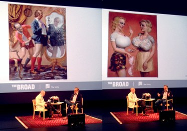James Cuno in conversation with John Currin. The Getty Center. September 14, 2014