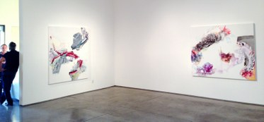 Pia Fries. Exhibition at Christopher Grimes Gallery.