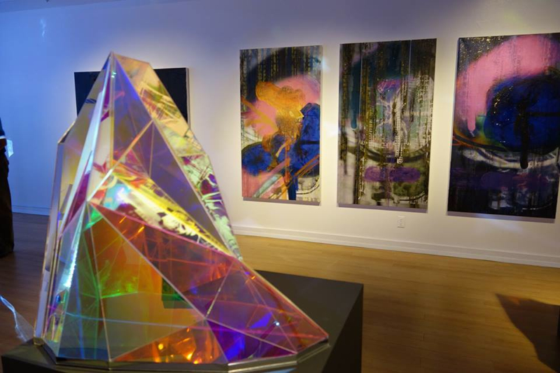 Miri Chais. Re:Mind. Exhibition at USC Fisher Museum of Art. Photo courtesy USC Fisher Museum of Art.
