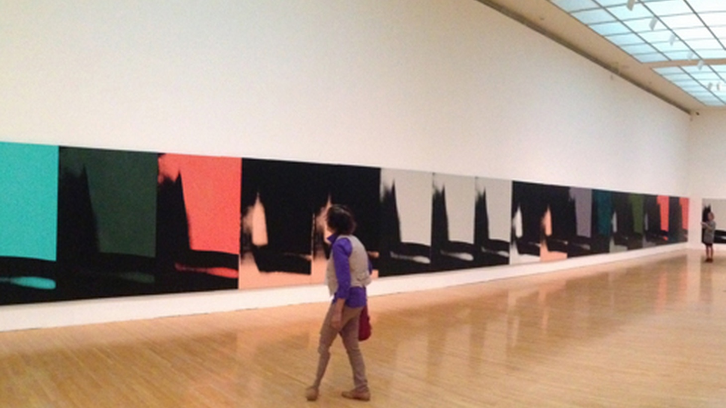 Edward raves about the current Warhol exhibition at MOCA, Shadows.