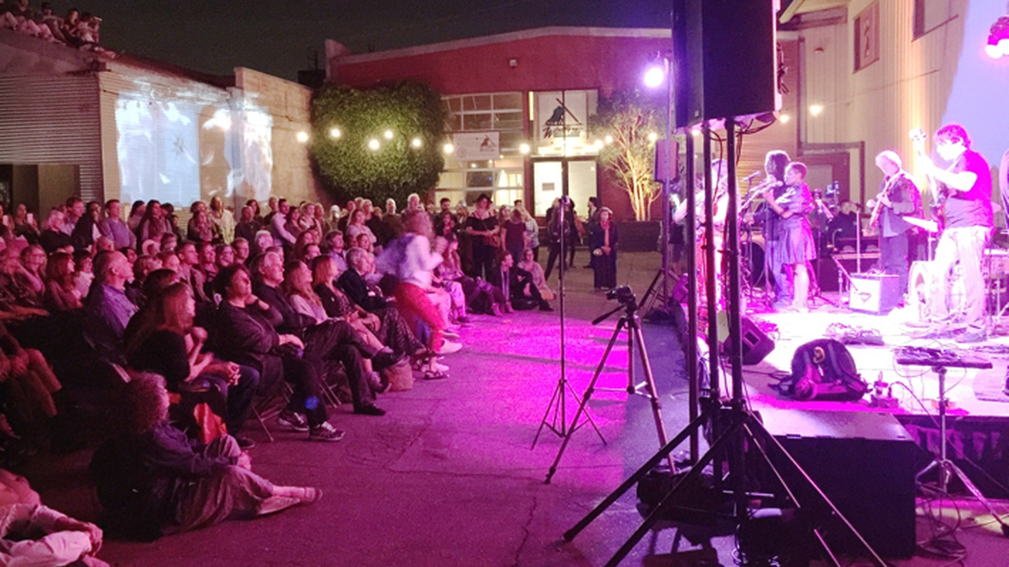 Edward Goldman shares his thoughts on the uniquely captivating art event that took place at Bergamot Station this past Saturday.