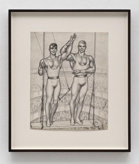 Untitled, 1961graphite on paper12 1/4 x 9 3/4 inchesPhotography: Brian ForrestCourtesy of David Kordansky Gallery, Los Angeles, CA