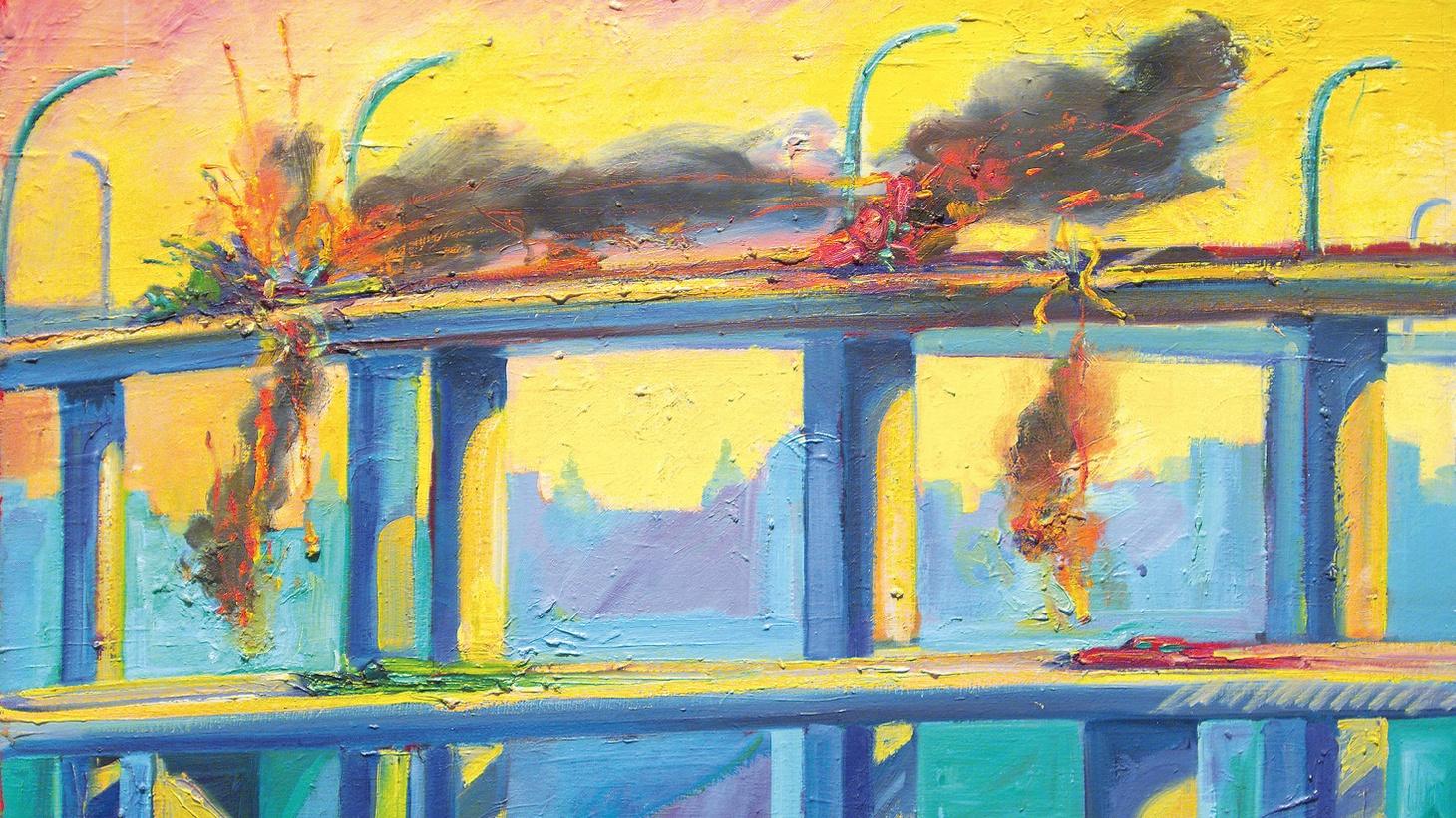 Hunter Drohojowska-Philp talks about exploding cars and dangerous border crossings.