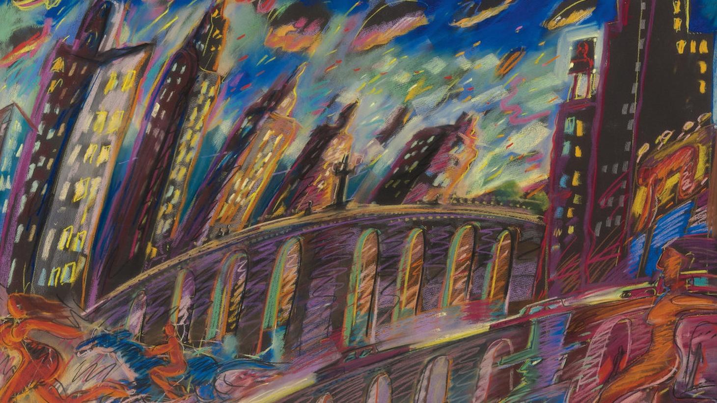 Edward Goldman talks about the long overdue retrospective of Chicano artist Carlos Almaraz at LACMA.