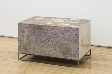Quarry Composite (Base)2014Marble, solvent print on Sintra PVC, steel base40 x 25 x 25 inches