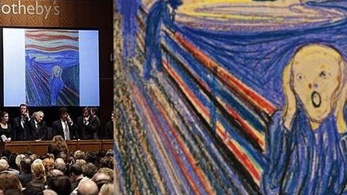 Two stories that made the front-page news last week: one about art and an obscene amount of money, the other about the shameful treatment of a political dissident in China.