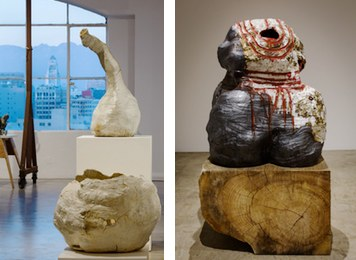 Galia Linn And Alexandra Grant: Stories In Clay And Paint