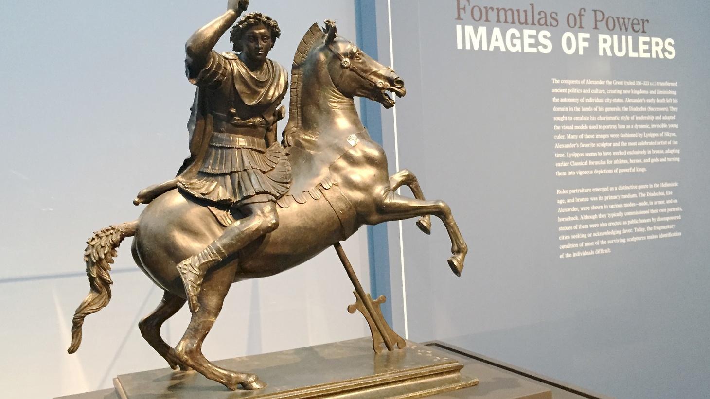 Edward Goldman talks about a unique and expansive Hellenistic bronze sculpture exhibit at the Getty Center.