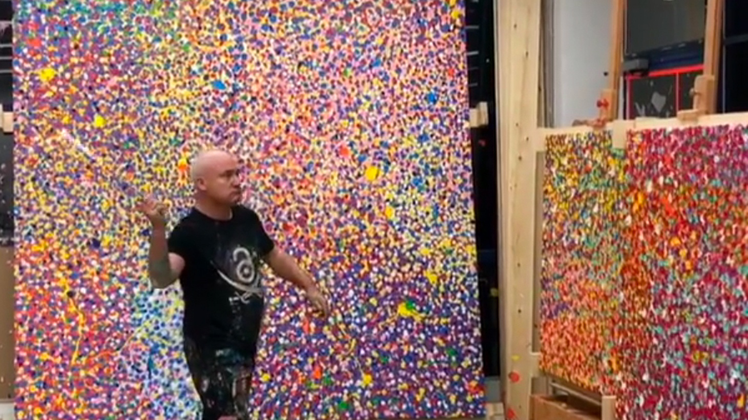 Edward Goldman talks about an exhibition at Gagosian by one of the most successful contemporary artists, Damien Hirst.
