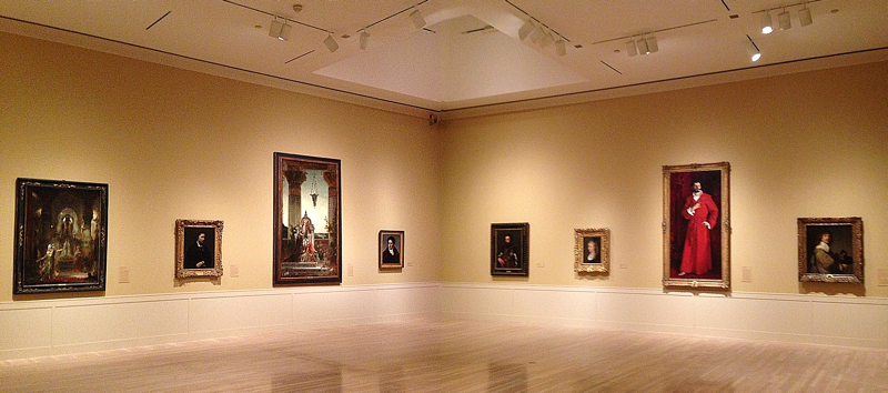 Hammer Museum. Permanent Collection. Photograph by Edward Goldman.