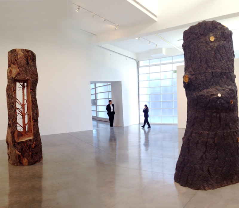 Giuseppe Penone. Branches of Thought. Exhibition at Gagosian Gallery, BH. Photograph by Edward Goldman.