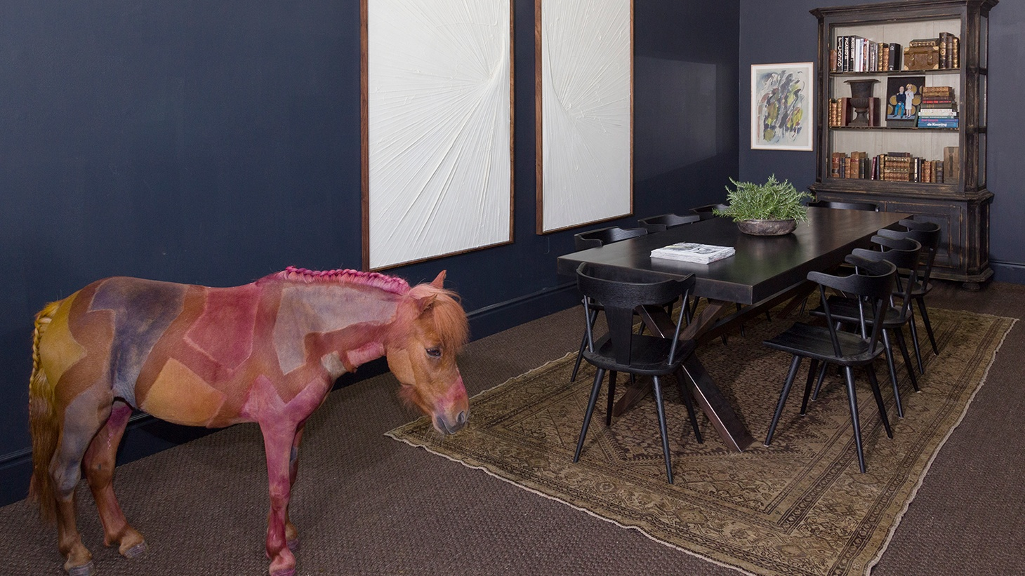Hunter Drohojowska-Philp trots to Hollywood to see the painted horse.