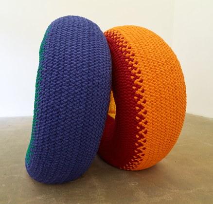Jim Isermann. Untitled(Donuts), 1997
