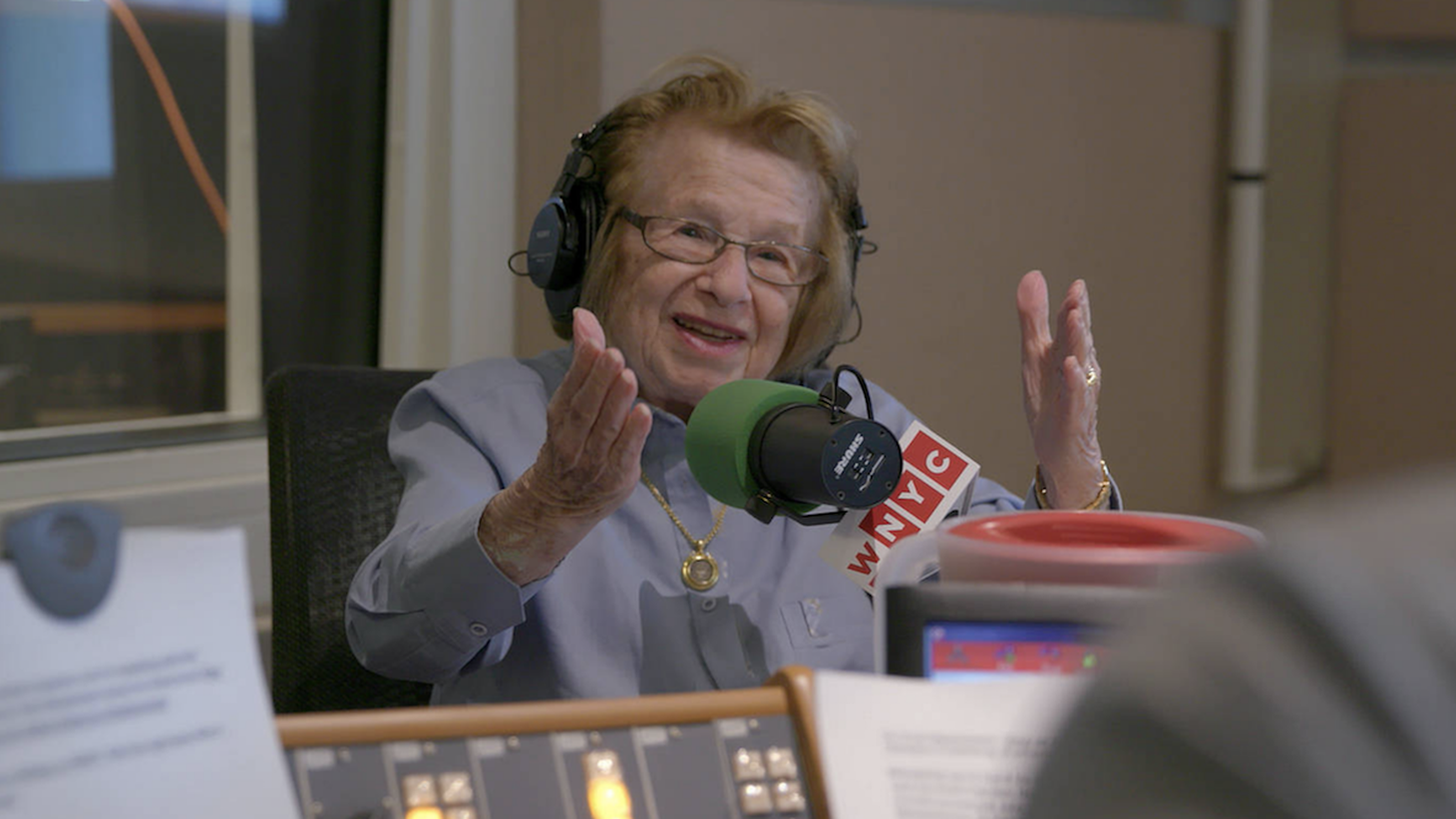 Still from Ask Dr Ruth, (2019) Dir. Ryan White.