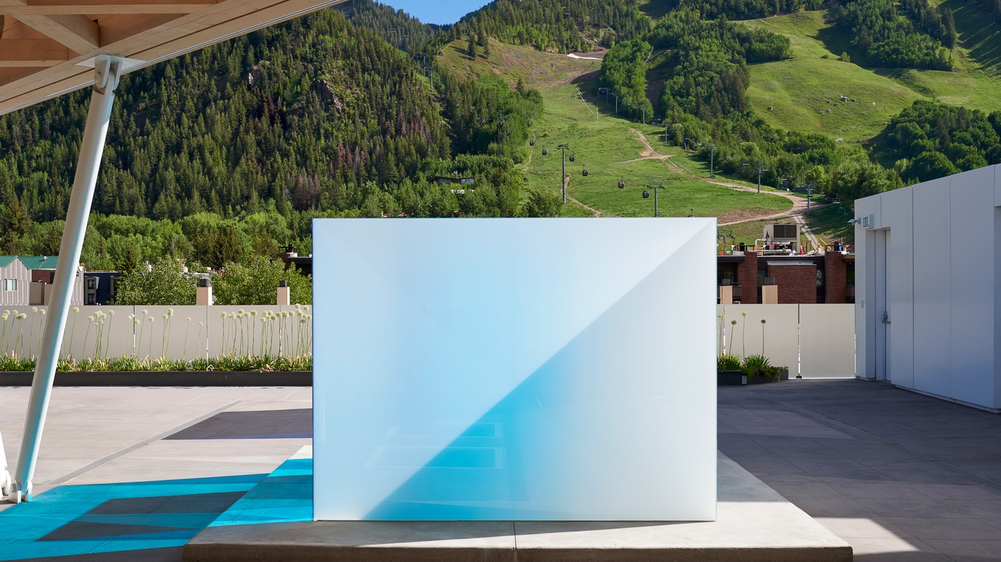 Hunter Drohojowska-Philp talks about the light and space artist's work in downtown L.A. and his Aspen Blues