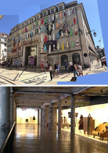 Museum of Design and Fashion, Lisbon. Photos by Edward Goldman.