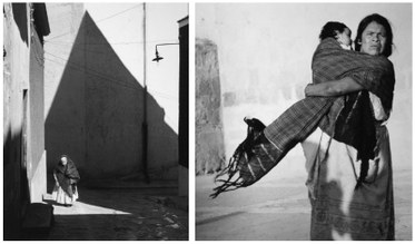 "(L) Manuel Carrillo. Guanajuato, from the ""M. Carrilo"" portfolio, 1960. Gelatin Silver Print. Courtesy Museum of Contemporary Photography, Chicago. (R) Manuel Carrillo. Guanajuato, from the ""M. Carrilo"" portfolio, 1960. Gelatin Silver Print. Courtesy Museum of Contemporary Photography, Chicago."