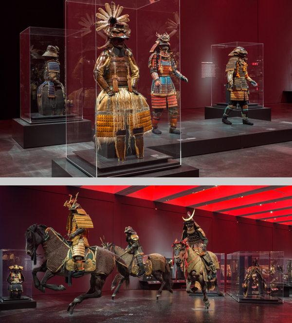 """Samurai."" Photographs courtesy of LACMA."