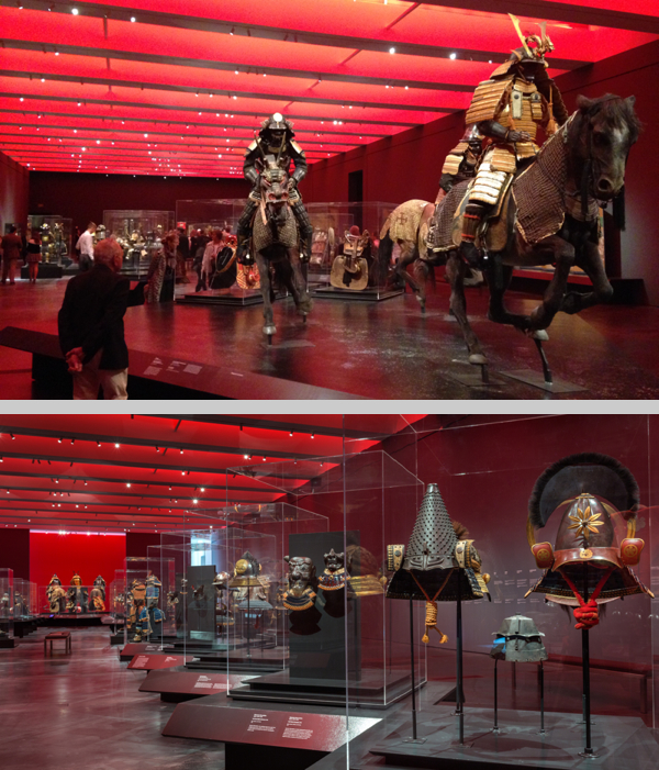 "(Top): ""Samurai."" Photograph courtesy of wHY architecture. (Bottom): ""Samurai."" Photograph courtesy of LACMA."