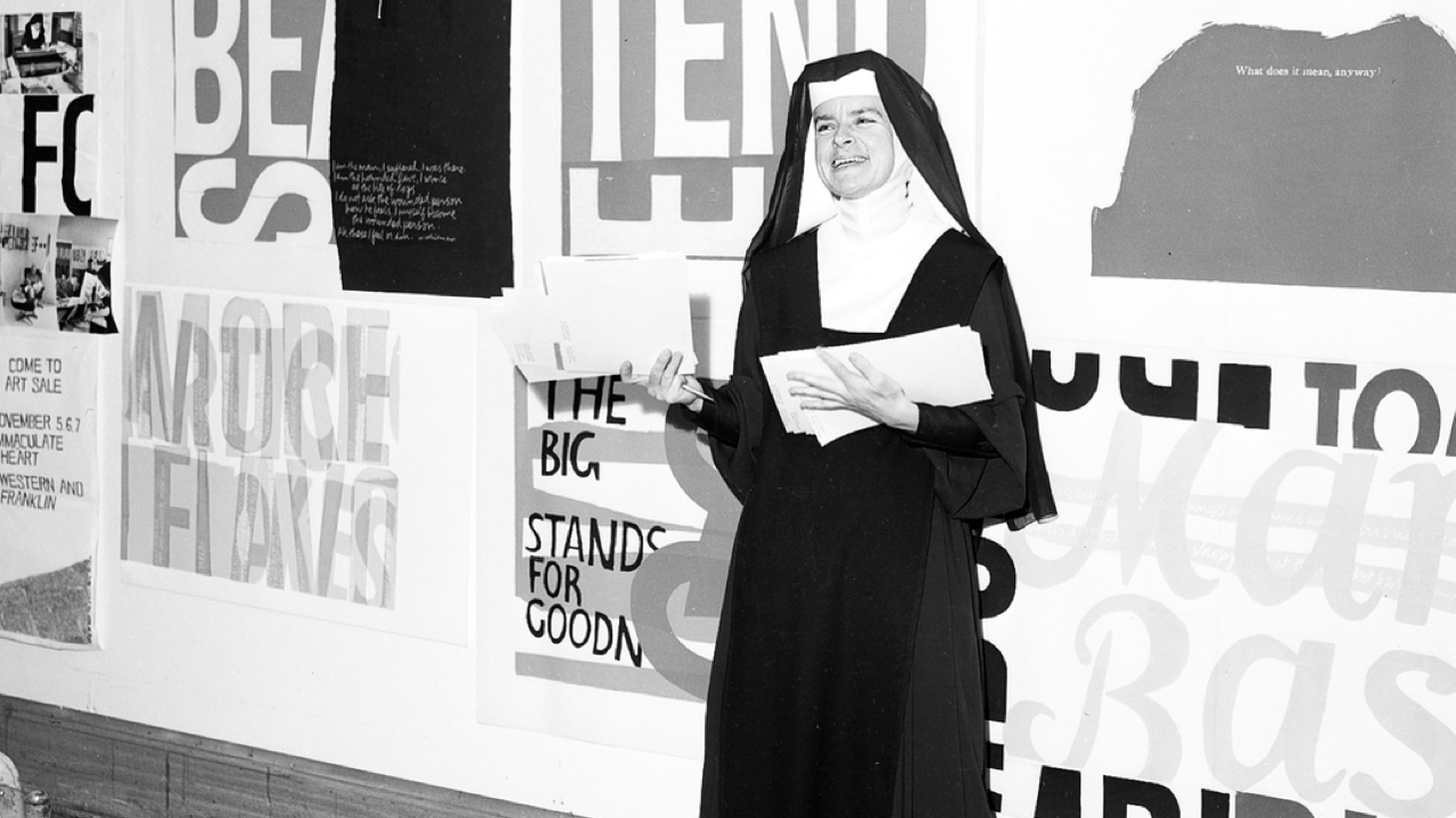 Edward Goldman shares his newly discovered love of the life and work of a uniquely interesting woman, artist, and nun.