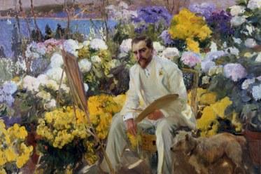 Joaquín Sorolla y Bastida. Portrait of Louis Comfort Tiffany, 1911. Oil on canvas. The Hispanic Society of America.