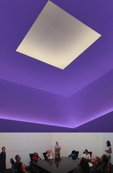 James Turrell, Skyspace, 2014. Kayne Griffin Corcoran Gallery.
