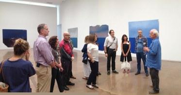 "Joe Goode. ""Flat Screen Nature,"" 2014. Kohn Gallery."