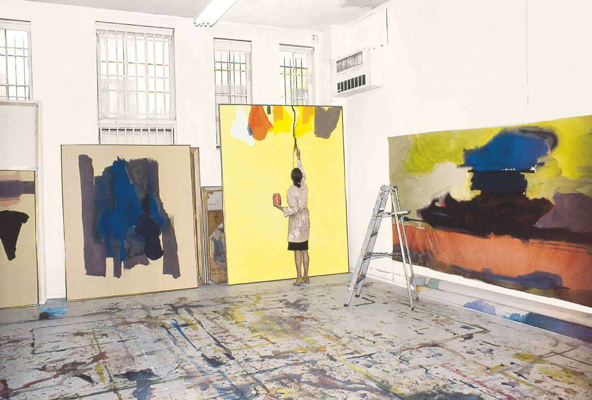 Tripping\' on art with Helen Frankenthaler and Doug Aitken