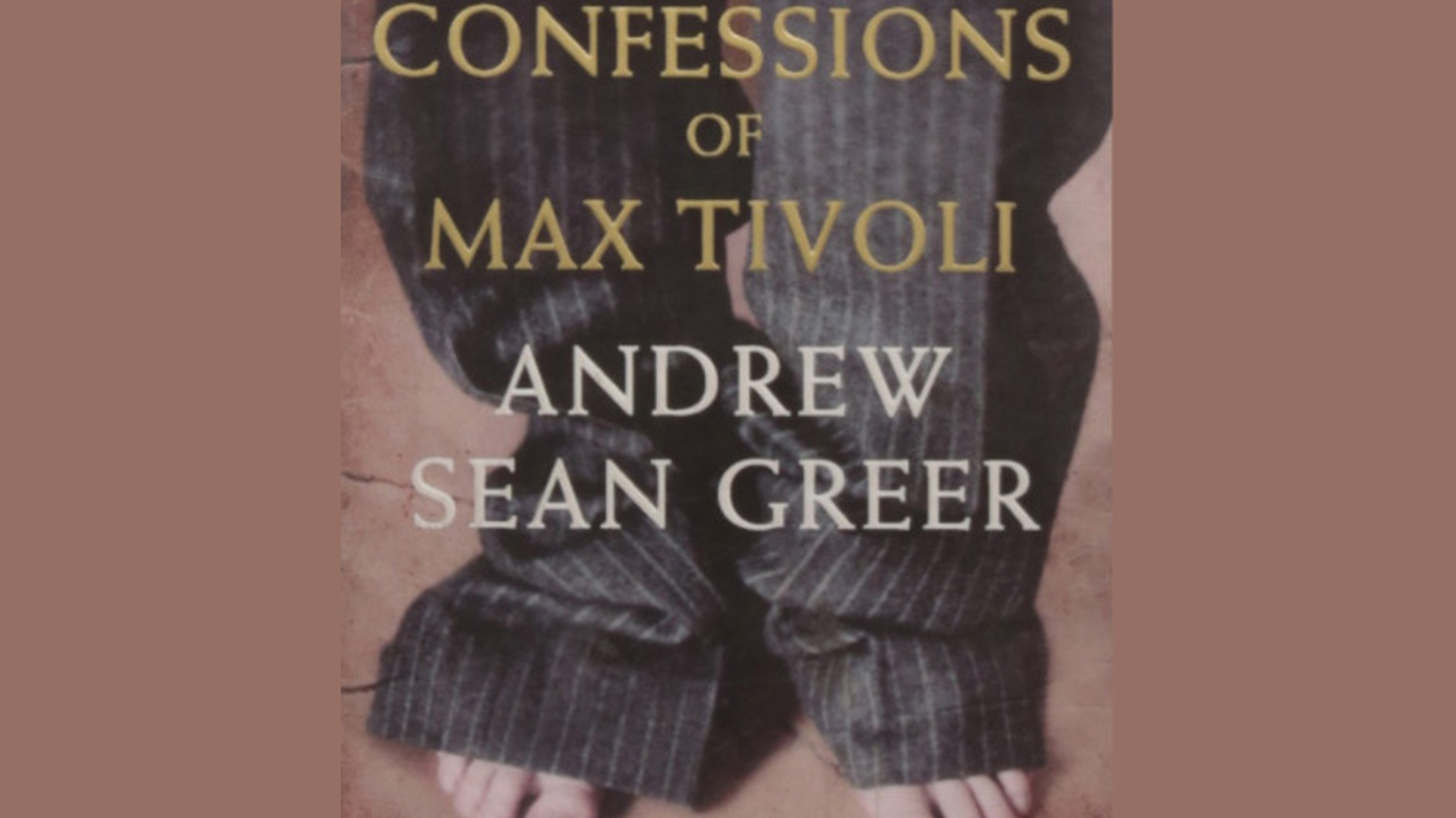 The hero of The Confessions of Max Tivoli  is born an old man who ages backwards -- not an unusual fantasy premise.