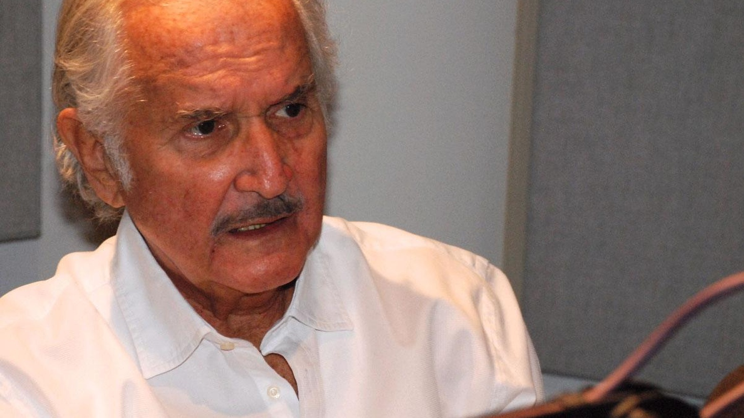 """A second program with Carlos Fuentes, this one about culture and politics: Will narco-politics defeat government? Will a """"New Deal"""" be negotiated to help the ni-nis? (Part I of this two-part conversation airs on March 17.)"""