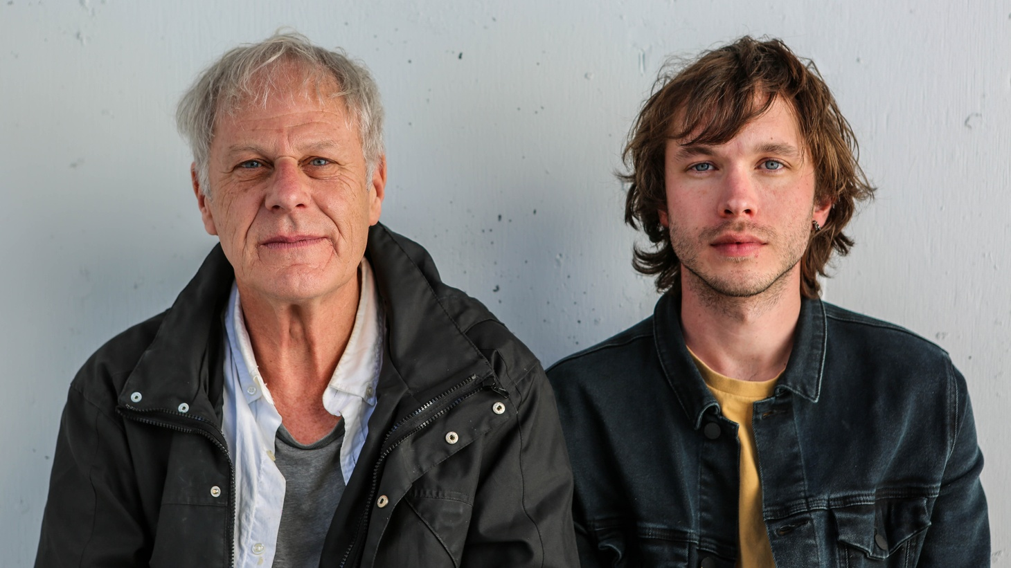 Author, Dennis Cooper and collaborator, Zach Farley