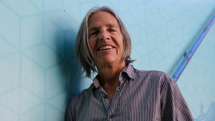 Beloved writer Eileen Myles didn't make up the dog but she did make up Afterglow (a dog memoir).