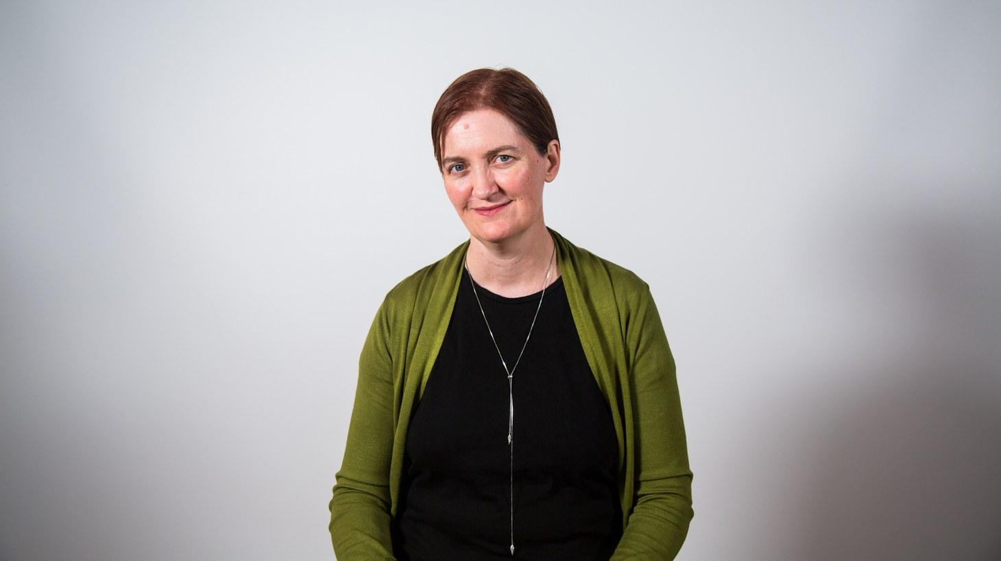 Author, Emma Donoghue.