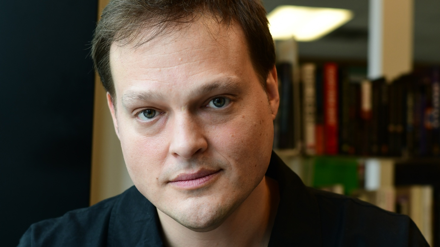 Author, Garth Greenwell.