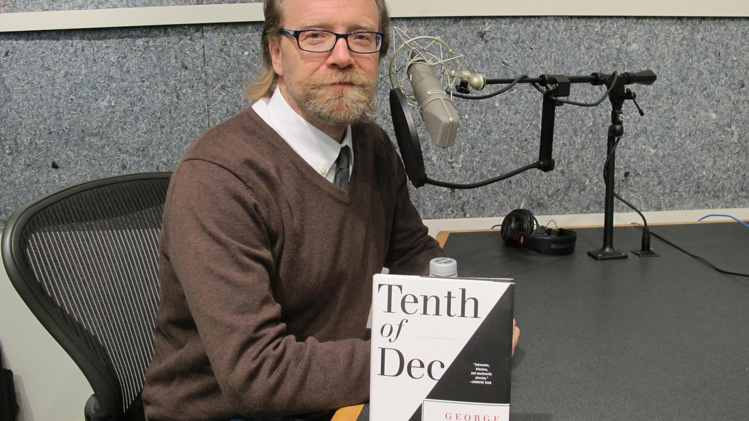 """George Saunders reflects on writing, """"infinitely"""" revising, and how he finds the voices for his luminous but smudged characters. (Part 1 of 2)"""