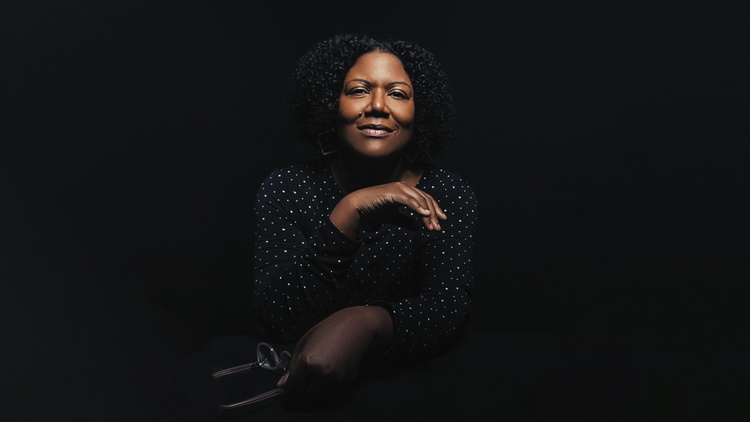 """Honoree Fanonne Jeffers discusses writing about the full range of a community, its sexuality and gender, in her first fiction novel, """"The Love Songs of W.E.B. Du Bois."""""""