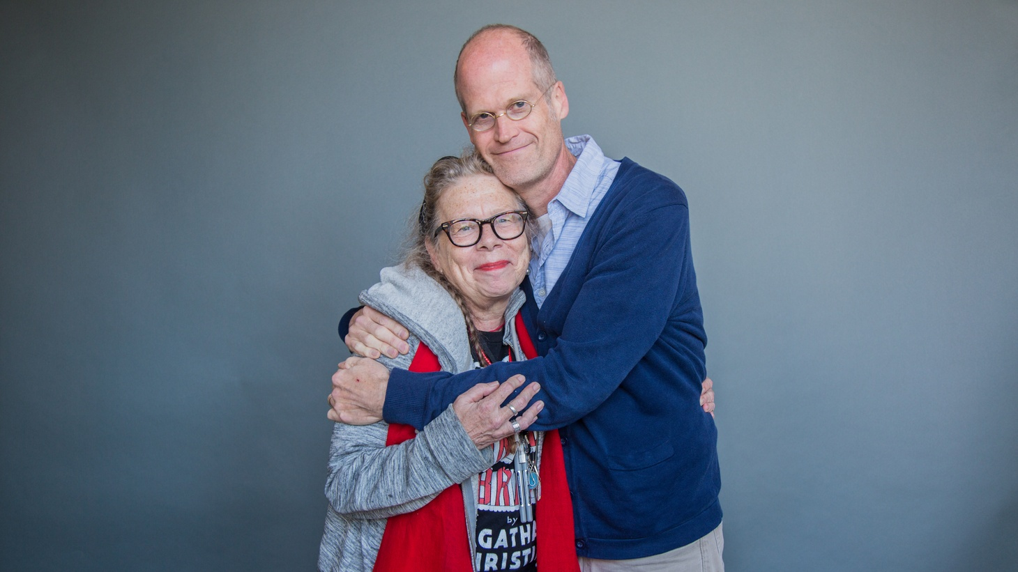 Authors, Lynda Barry and Chris Ware.