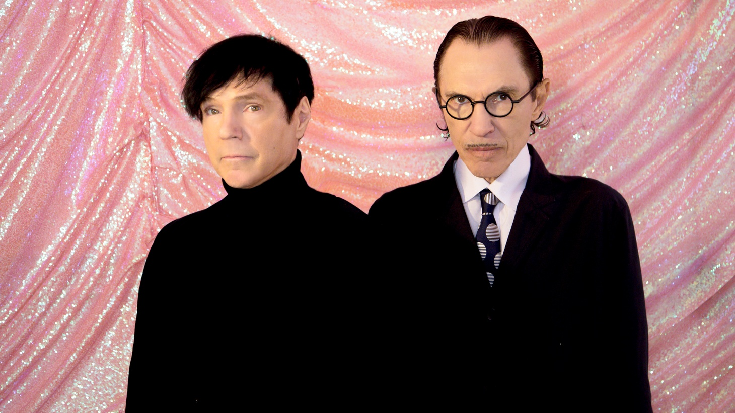 Ron and Russell Mael of Sparks.