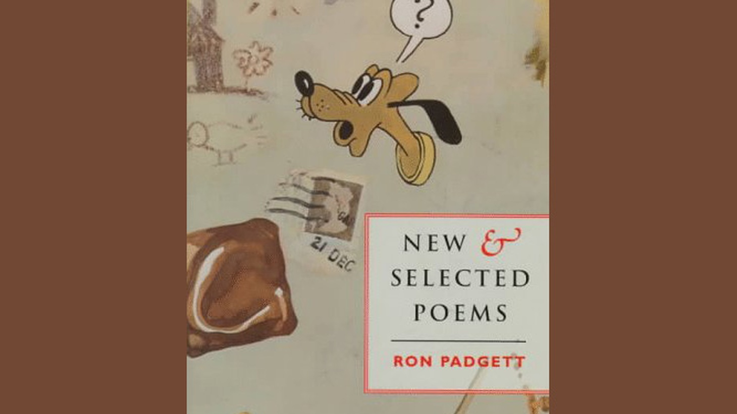 Poet Ron Padgett discusses his selected poems.
