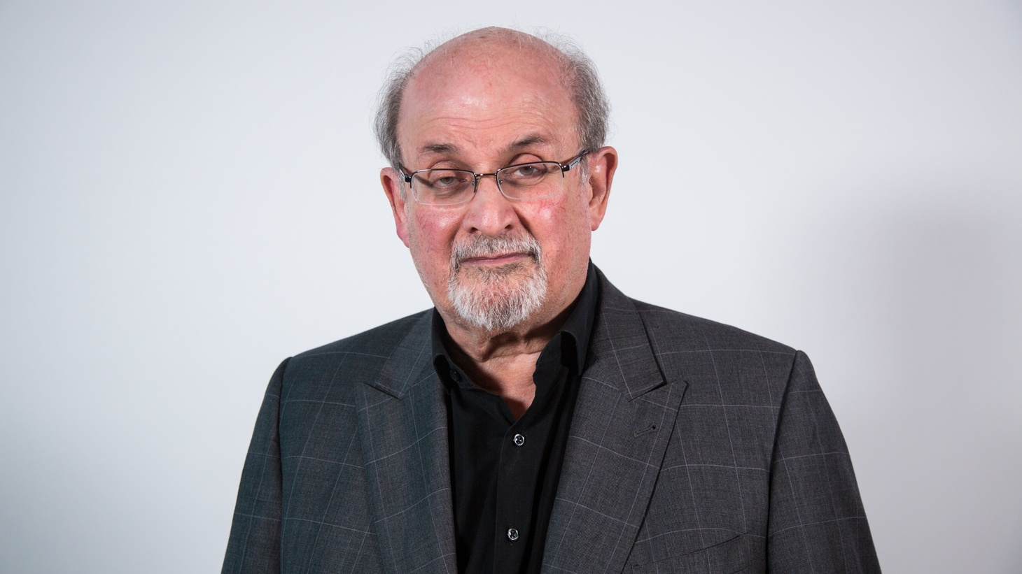Author, Salman Rushdie.
